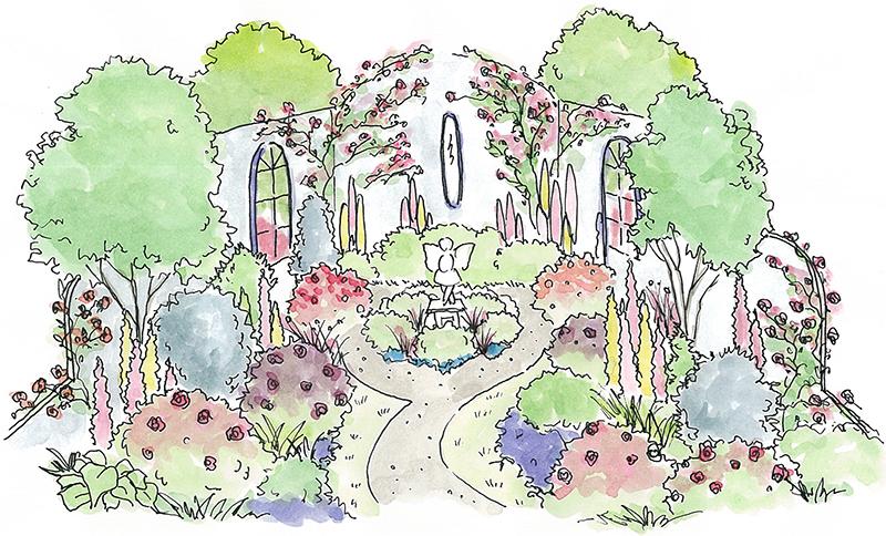 妖精が棲む庭
